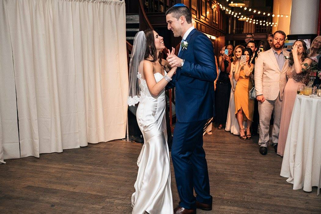 Jen and Ian's first dance. Wedding routine choreographed by Brooklyn Dance Lessons.